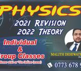 A/L physics individual or group classes