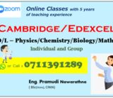 O/L_Science/Mathematics - Cambridge/Edexcel
