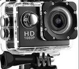 Camera Sport Action 16 Mp Hd Waterproof - New