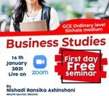 Online business studies