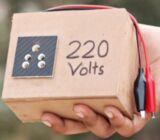 Power inverter 12V DC to 220V AC 100w