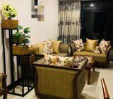 Solid teak wood sofa set
