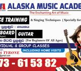 Music classes.(voice Traning,Guitar & Orgen)