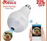 Hidden CCTV Bulb Camera