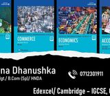 Cambridge IGCSE/ OL/ As/ AL & Edexcel GCSE - Accounting, Business Studies, Economics