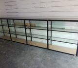 Brandnew Aluminium Framed Glass Cupboard