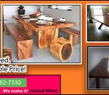We make Pantry cupboard ,Railings ,Wooden floor ,Bunker beds and all furnitures