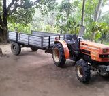 Tractor with Taller