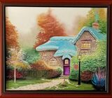 Canvas Painting- Heather's Hutch