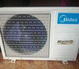 Midea inverter type btu18000 airconditioner