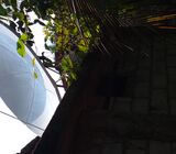 6 feet used c-band satellite dish