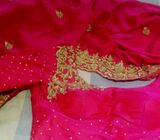 Bridal going away saree