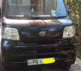 Toyota pixis mini van