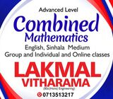 Combined Maths(English/Sinhala)