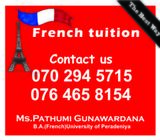 French Classes - conducted by a French teacher at leading international school in Gampaha (Online cl