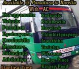 Staff transport service Panadura to Kalubowila