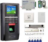 Door Access Control System With Fingerprint