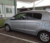 Mitsubishi mirage car