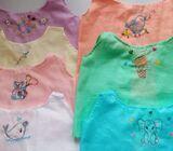 Handmade baby shirts