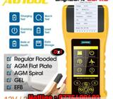 Battery system tester with printer