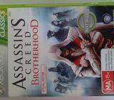 Assassin's Creed Brotherhood Xbox 360 game CLASSICS