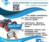 Robotics Class (Tamil Medium) for Grade 6 -11 Students