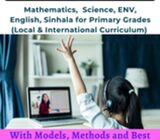 Primary Maths, Science and ENV for all Local and Government syllabus.