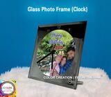 Glass Clock Sublimation