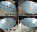 ඇලුමිනියම් ඇතිලි / තාච්චි Aluminium thachchi / Athili cooking pot