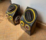 theree wheel speakers