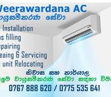 Air conditioner servicing and repairing