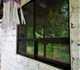 Aluminium window 6'x4.2'