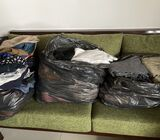 Selling used clothes (around 100 pieces)