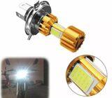 H4 18W LED 3 COB Motorcycle Motor Bike Headlight Bulb 6000K Hi/Lo Beam Light