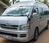 Van for hire Negombo