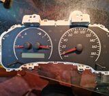 Car meter board repair and mileage change