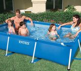 INTEX Family Frame Rectangle Pool 3m x 2m 75cm with Filter system