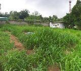 Land for Immediate Sale in Meegoda, Hanwella