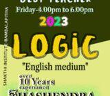 English medium Logic classes