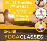 Yoga course for ladies