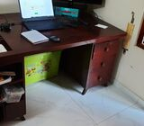 Teak Office stable (4 by 2 feet) Old style