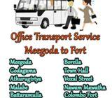 Staff tranceport service meegoda to fort 0764644434