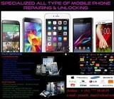 mobile phone repairing and unlocking
